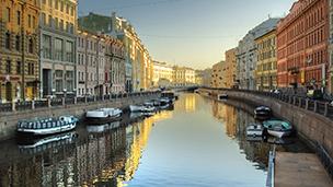 Federacja Rosyjska - Liczba hoteli Petersburg