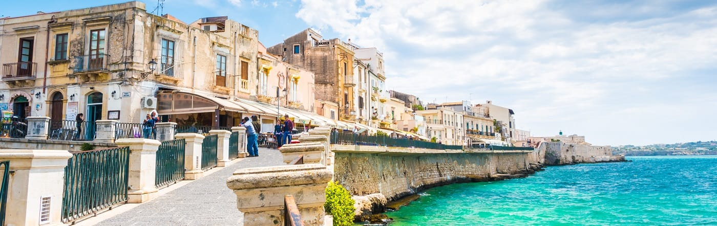 Włochy - Liczba hoteli Syracuse