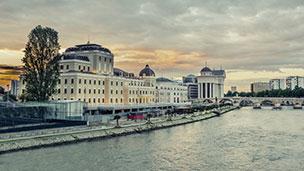 Mazedonien - Skopje Hotels
