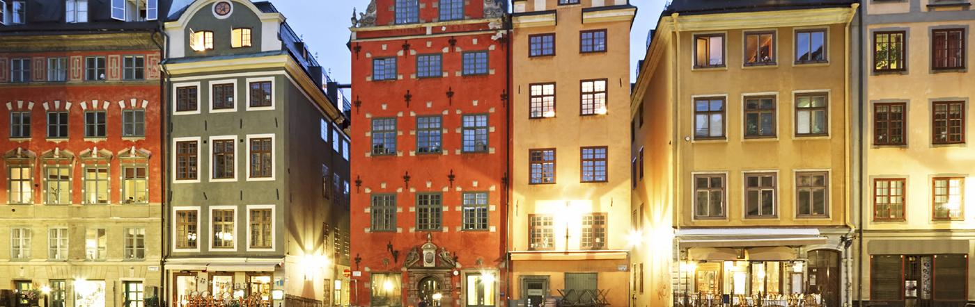 Suecia - Hoteles Estocolmo