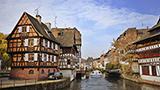 Francja - Liczba hoteli Strasburg