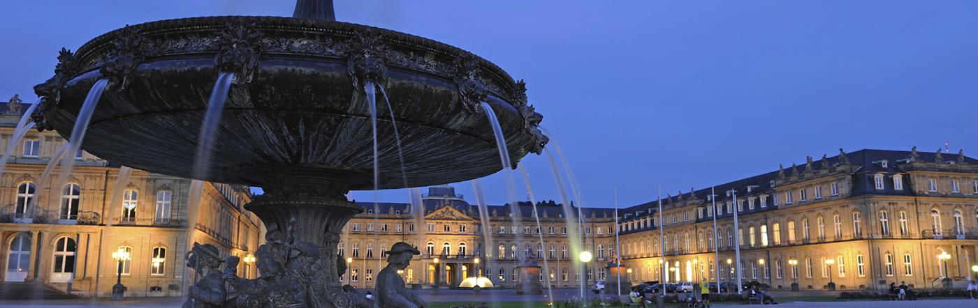 Almanya - Stuttgart Oteller