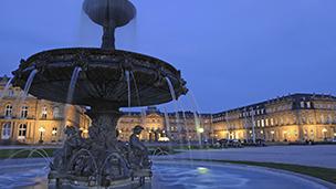 Niemcy - Liczba hoteli Stuttgart