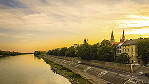 Węgry - Liczba hoteli Segedyn