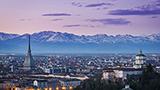 Włochy - Liczba hoteli Turyn