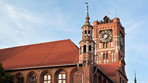 Polska - Liczba hoteli Toruń