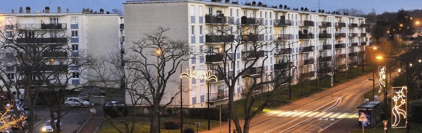 Francja - Liczba hoteli Trappes