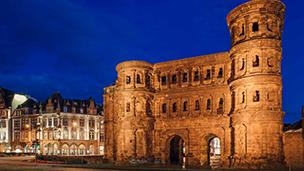 Niemcy - Liczba hoteli Trier