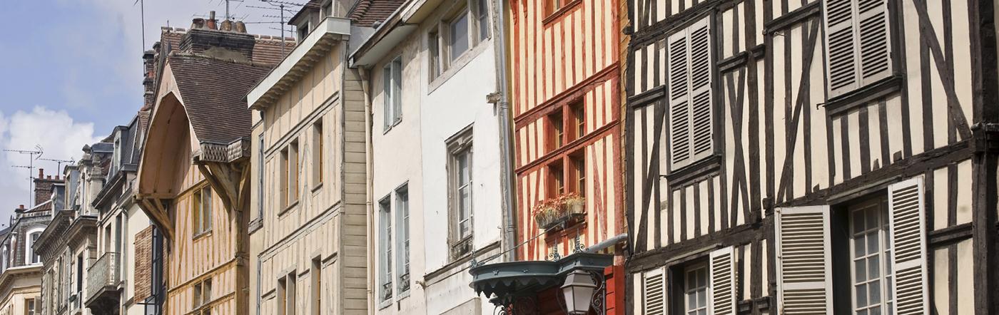 法国 - 特鲁瓦酒店