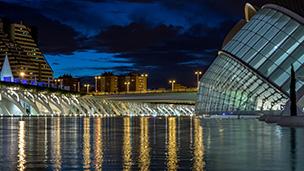 Hiszpania - Liczba hoteli Valence