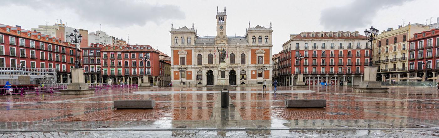 Hiszpania - Liczba hoteli Valladolid