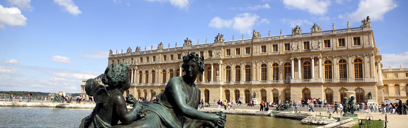 Francja - Liczba hoteli Versailles
