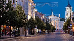 Litwa - Liczba hoteli Wilno