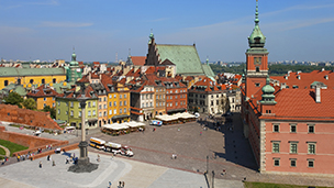 Polonia - Hoteles Varsovia