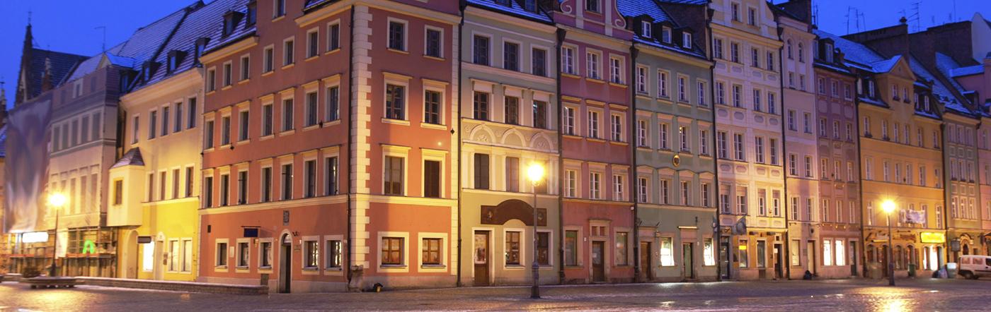 Polônia - Hotéis Wroclaw