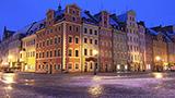 Polska - Liczba hoteli Wrocław