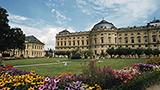 Niemcy - Liczba hoteli Wurzburg