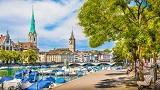 Szwajcaria - Liczba hoteli Zurych
