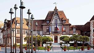 Francja - Liczba hoteli Honfleur
