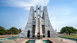 Ghana - Liczba hoteli Akra (Accra)