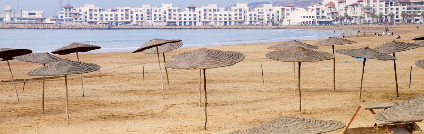 モロッコ - アガディール ホテル