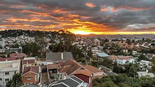Madagaskar - Liczba hoteli Antananarywa