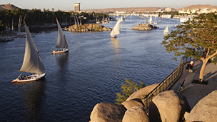 Egypten - Hotell Assuan