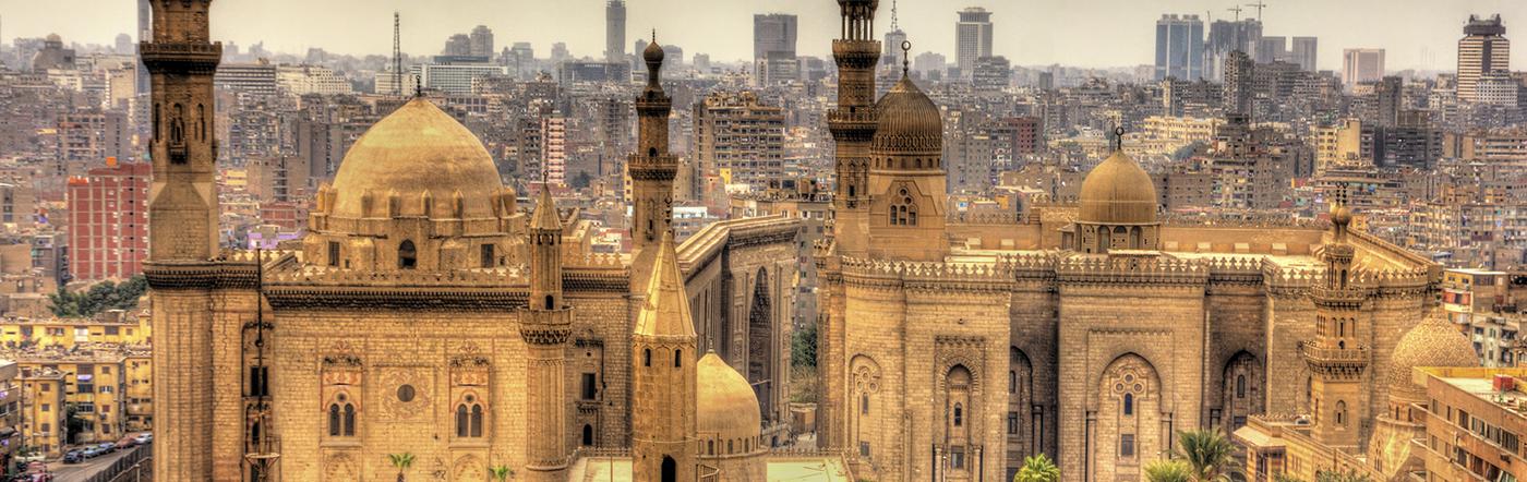 Egipt - Liczba hoteli Kair