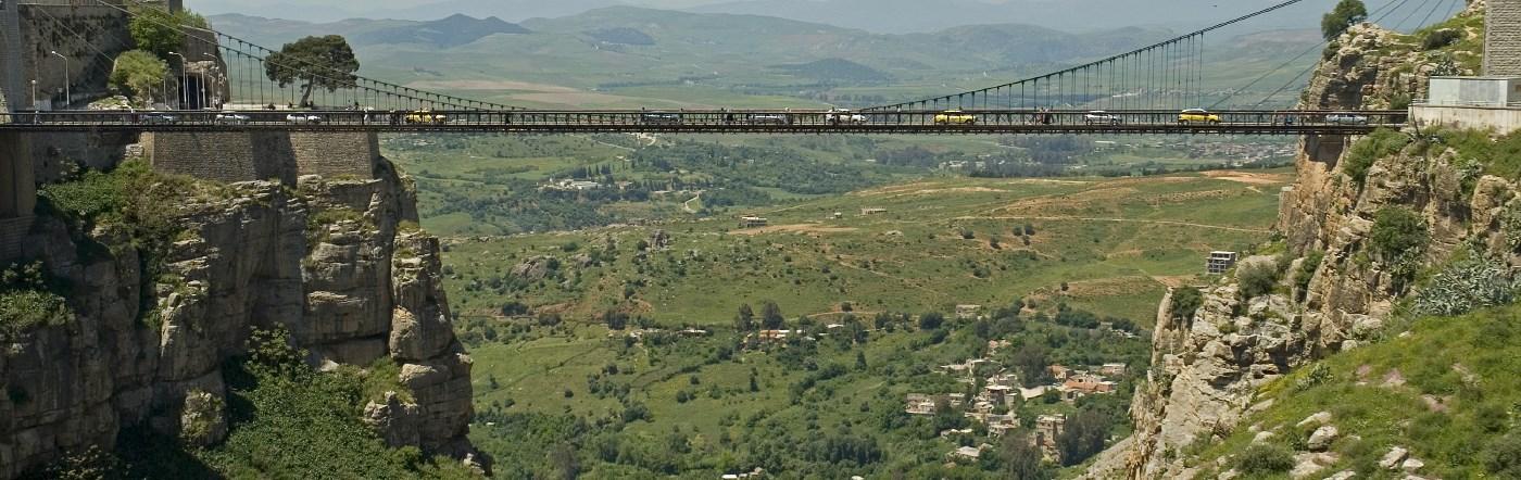 Algieria - Liczba hoteli Konstantyna
