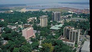 Kamerun - Liczba hoteli Douala