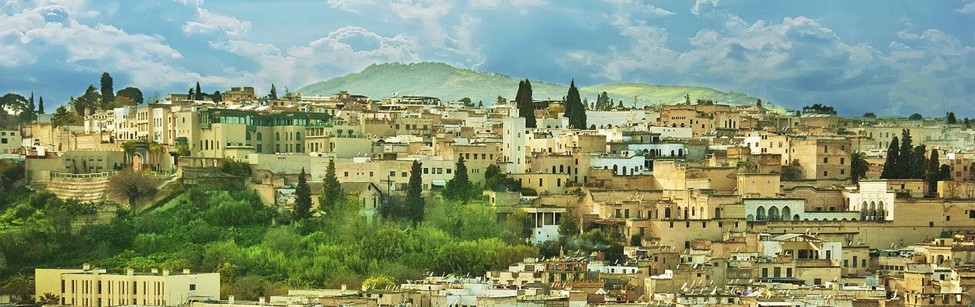 Maroko - Liczba hoteli Fez