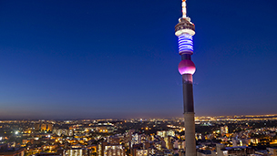 África do Sul - Hotéis Joanesburgo