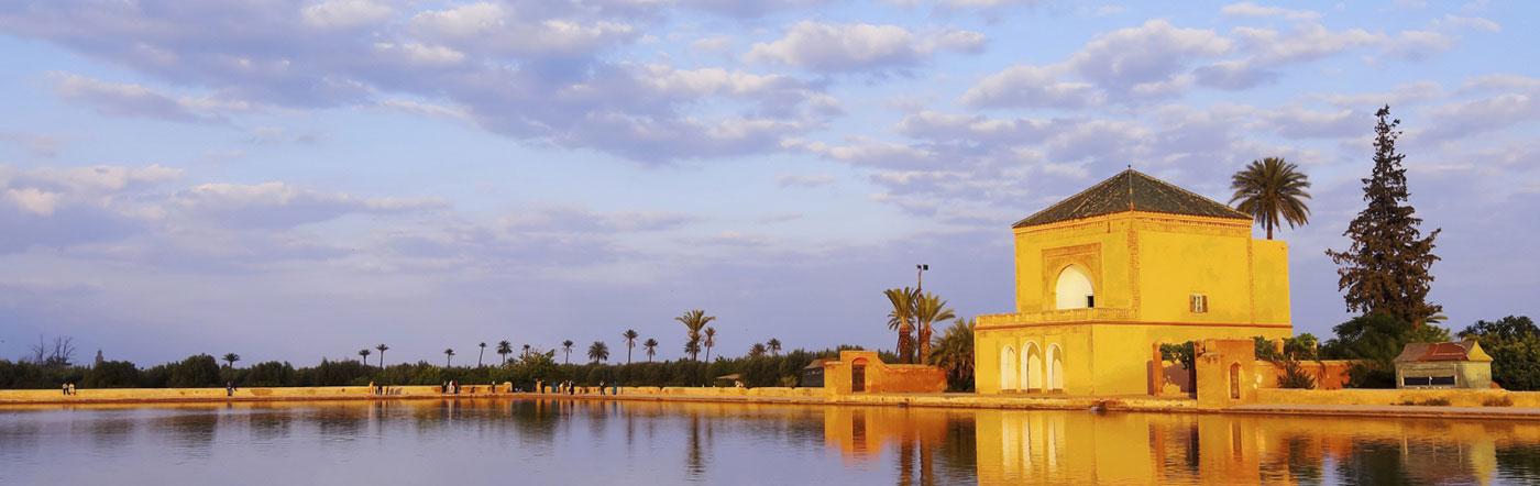 Maroko - Liczba hoteli Marrakesz