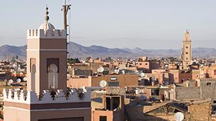 Marocko - Hotell Marrakech