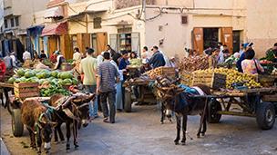 モロッコ - ウジュダ ホテル