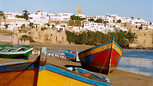 Maroko - Liczba hoteli Rabat