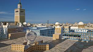 チュニジア - チュニス ホテル