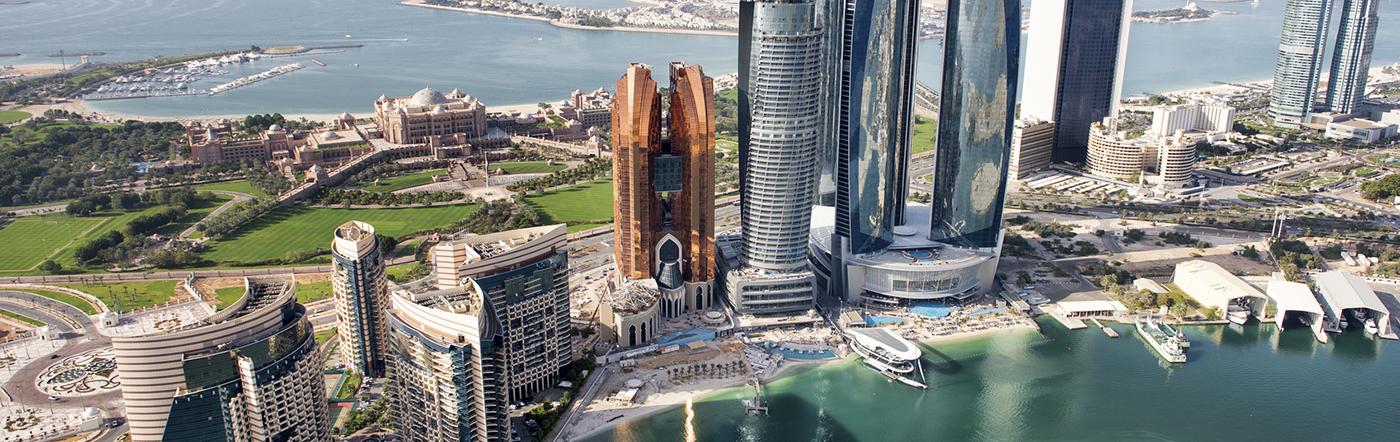 Zjednoczone Emiraty Arabskie - Liczba hoteli Abu Dhabi