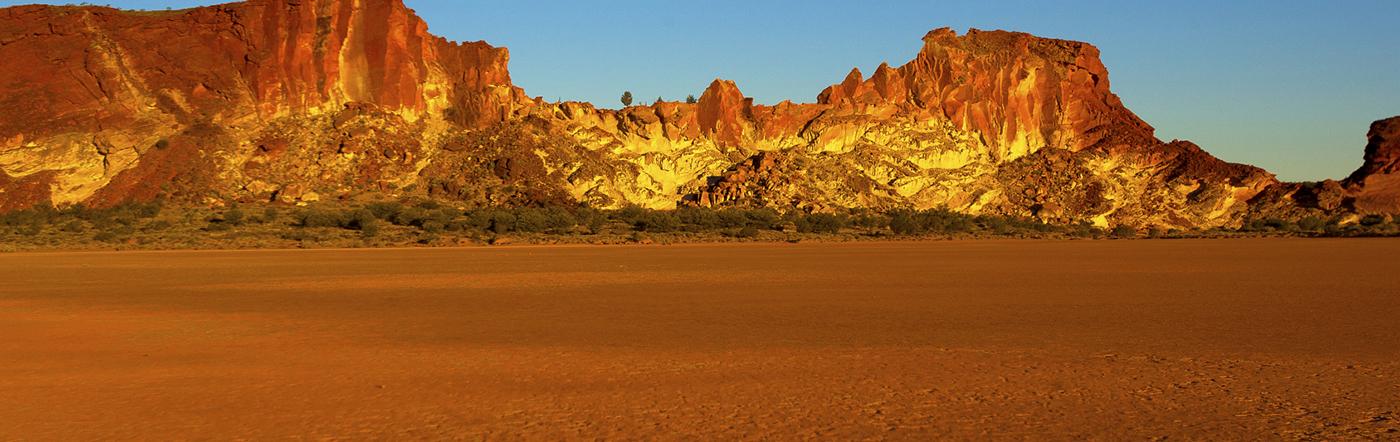 Australien - Hotell Alice Springs