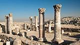 Jordania - Liczba hoteli Amman