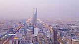Arabia Saudyjska - Liczba hoteli Rijad