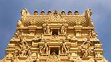 Indie - Liczba hoteli Bangalur