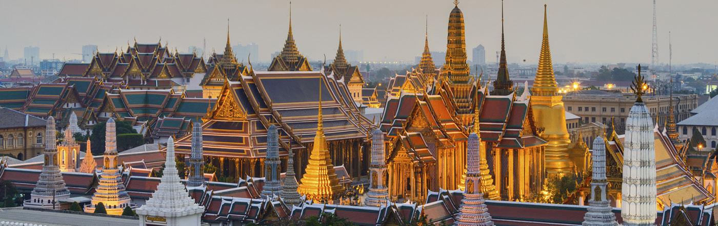 Tajlandia - Liczba hoteli Bangkok