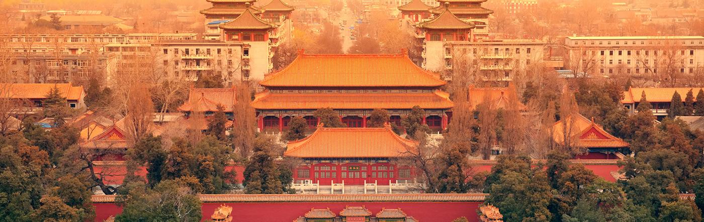 Chiny - Liczba hoteli Pekin