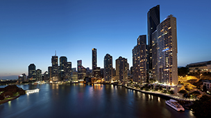 Australia - Liczba hoteli Brisbane