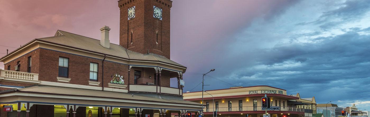 オーストラリア - ブロークンヒル ホテル