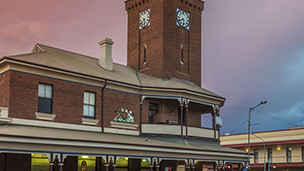 Australien - Hotell Broken Hill