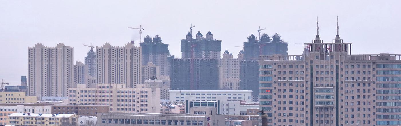 Chiny - Liczba hoteli Changchun
