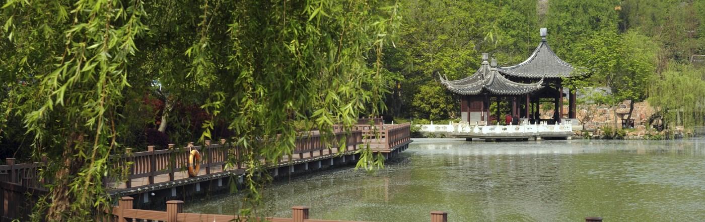 Chiny - Liczba hoteli Changzhou