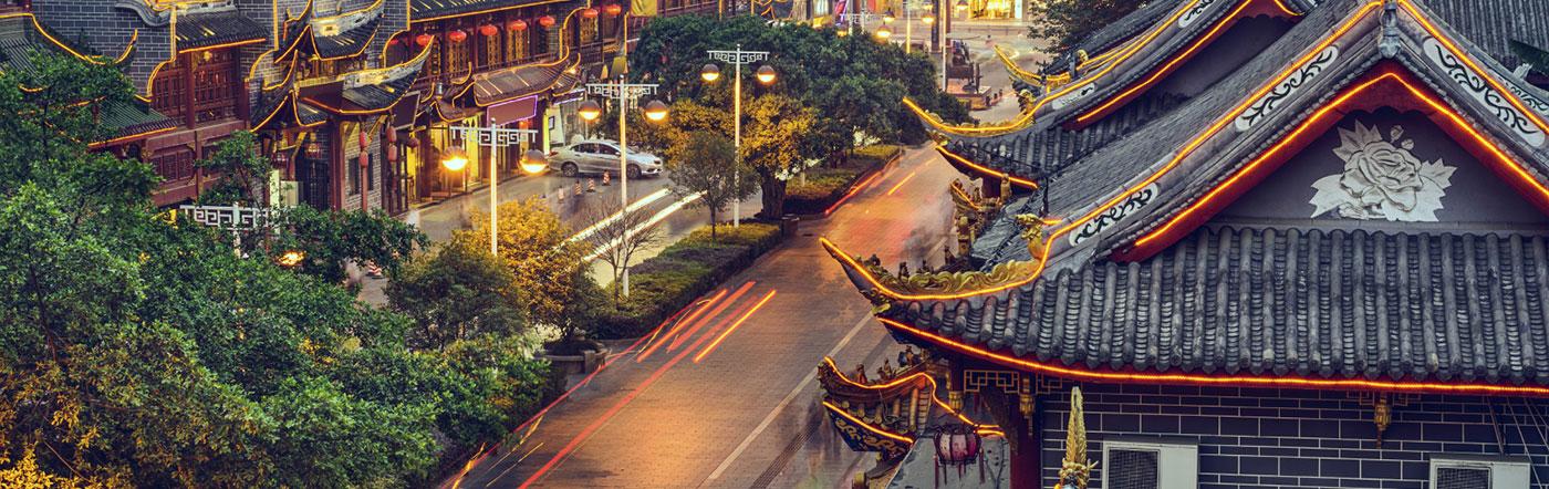 Chine - Hôtels Chengdu